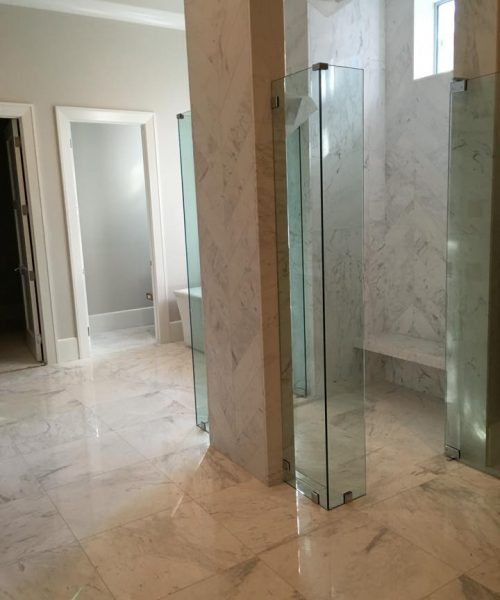 Bathroom Glass and Tile